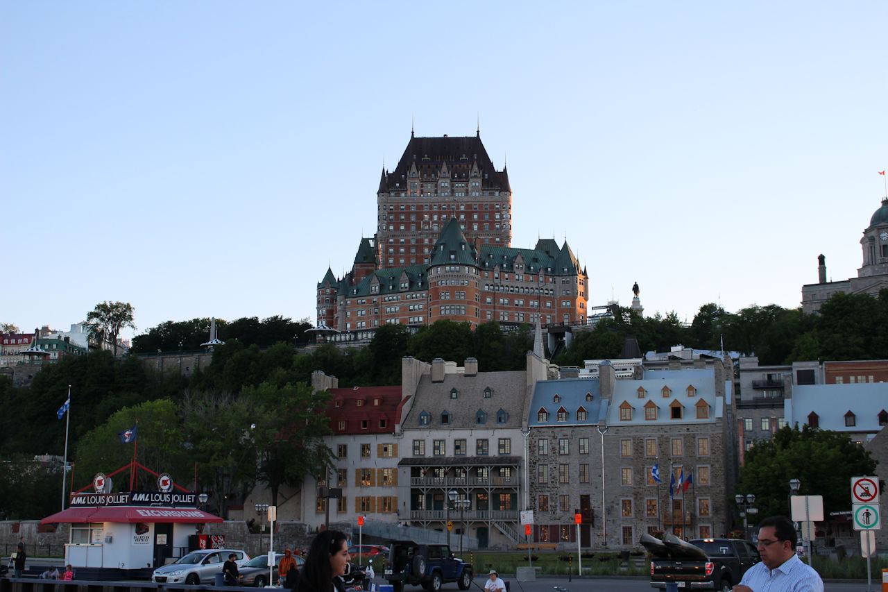 Q is for Quebec City