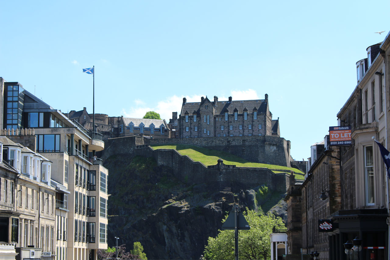 E is for Edinburgh